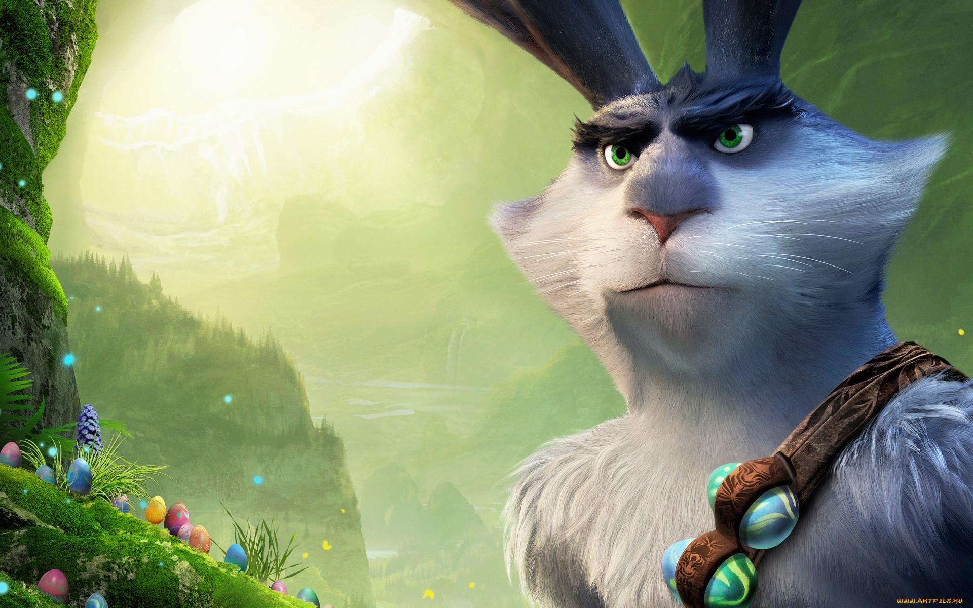 пасхальный кролик из хранители снов картинки сезон